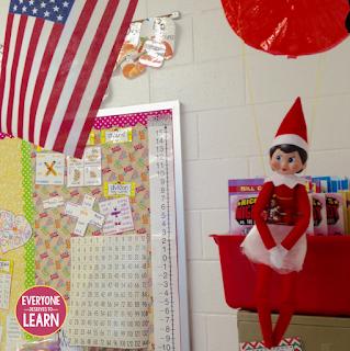 12 Days Of Elf Mas Classroom Elf On The Shelf Ideas