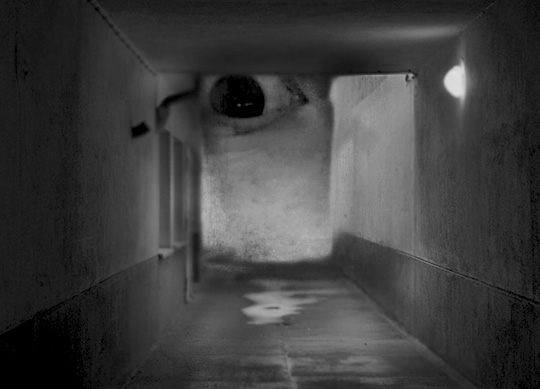 black and white photography, collages, art, creepy, weird, odd, contemporary, modern, photos, Sam Freek, artist,