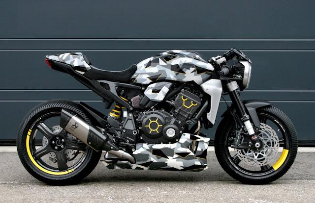 Honda CB1000R-adical Gannet Design and FuhrerMoto