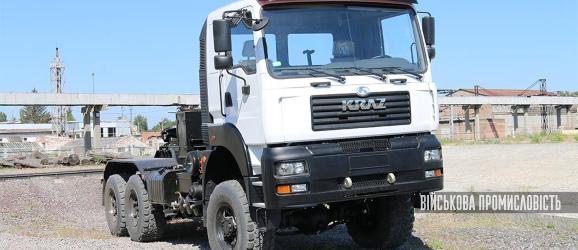 Новий повнопривідний сідельний тягач КрАЗ-6510ТЕ (6х6)