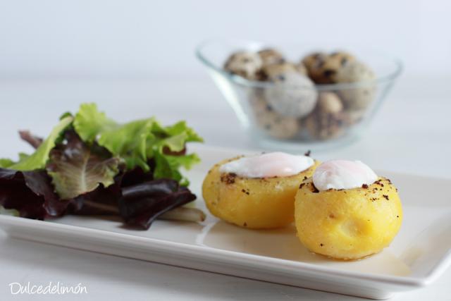 receta-de-patatas-rellenas-de-carne-con huevo-de-codorniz-poche