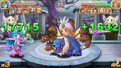 nhân vật trong game tinh linh đại chiến