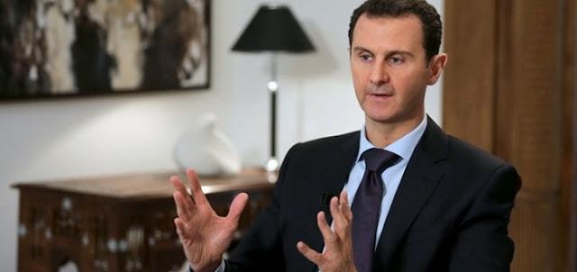تصريحات بشار الأسد حول الأزمة السورية وعلاقة أمريكا بها