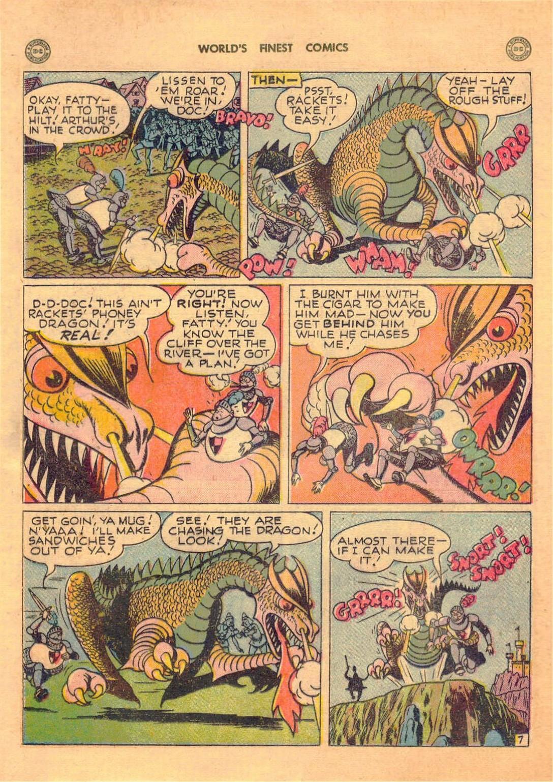 Read online World's Finest Comics comic -  Issue #42 - 34