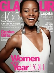 Lupita Nyong'o Covers Glamour Magazine's December 2014 Issue, Talks About Chimamanda Adichie's 'Americanah'