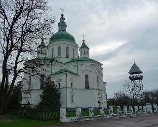Великі Сорочинці. Вул. Гоголя. Спасо-Преображенська церква. 1732 г.
