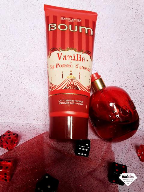 Oh my lylie, eau de parfum BOUM vanille, pomme d'amour, Jeanne Arthes