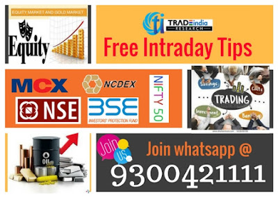 Live commodity tips, free stock tips, equity tips