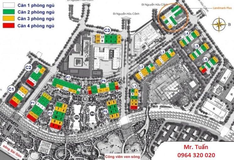 Mở bán tòa Quân Cảng thuộc dự án Vinhomes Central Park