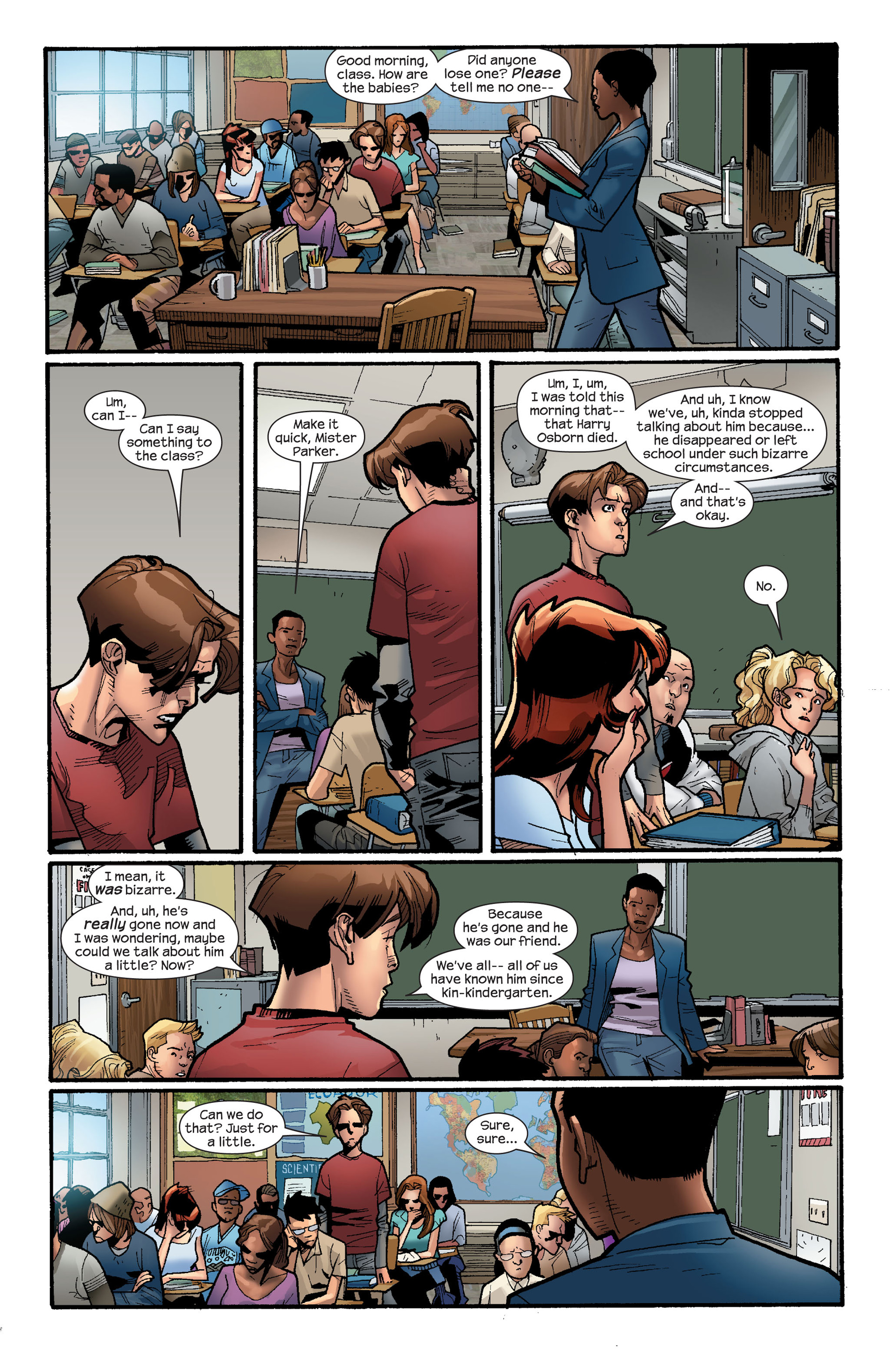 Read online Ultimate Spider-Man (2000) comic -  Issue #117 - 20