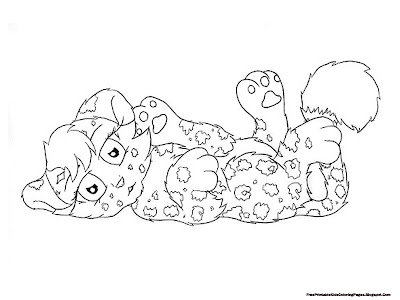 Printable Jaguar Coloring Pages For Kids