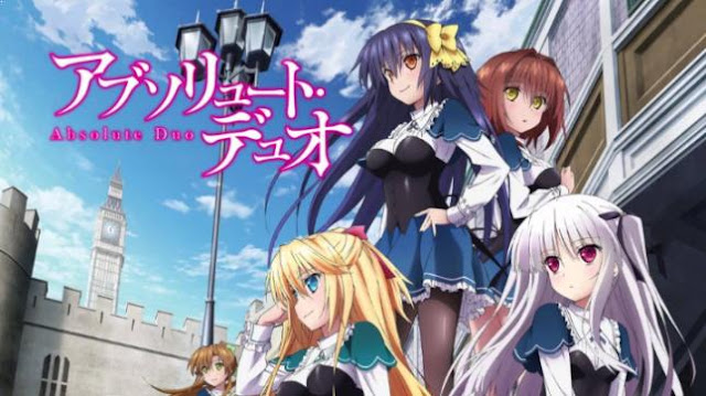 Absolute Duo - Anime Action Romance Harem Terbaik