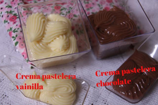 Como Hacer Crema Pastelera De Vainilla Y Chocolate