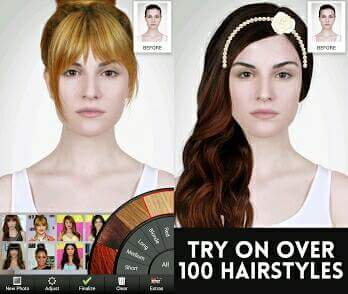 what is the best hairstyle app android