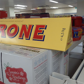giant toblerone