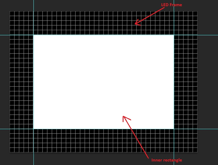 Design layout using LED Edit's Manual layout Creator
