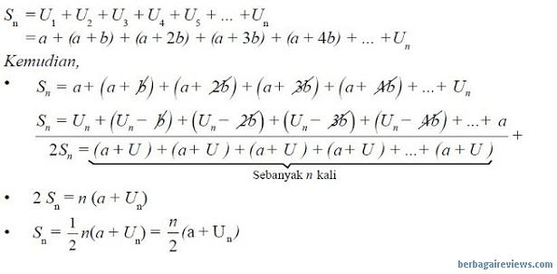 Deret aritmatika - berbagaireviews.com