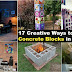 17 Creative Ways to Use Concrete Blocks in Your Home