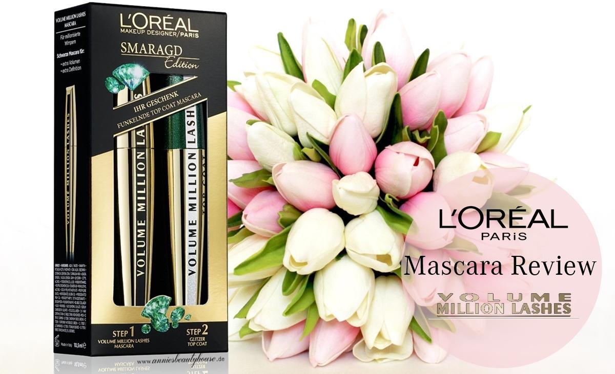 Review L'Oreal Volume Million Lashes + Glitter TopCoat Main Photo