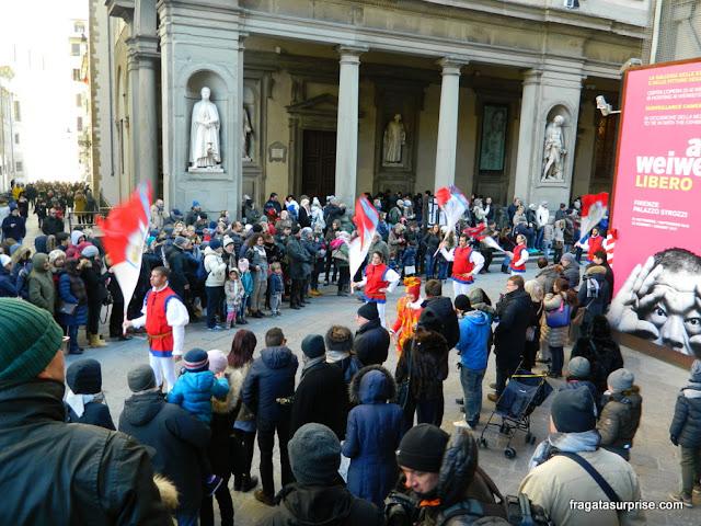 Festa de Reis em Florença