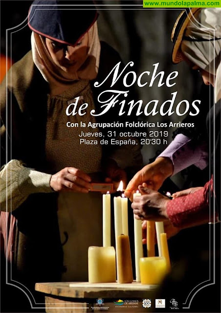 La Plaza de España de Los Llanos de Aridane acogerá una nueva edición de la Noche de Finados