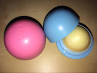 EOS Strawberry and Blueberry Lip Balms