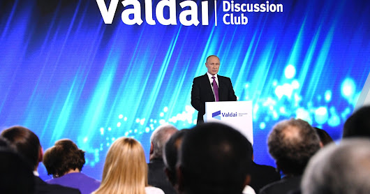 VIDEO EN FRANÇAIS -- PUTIN AT VALDAI