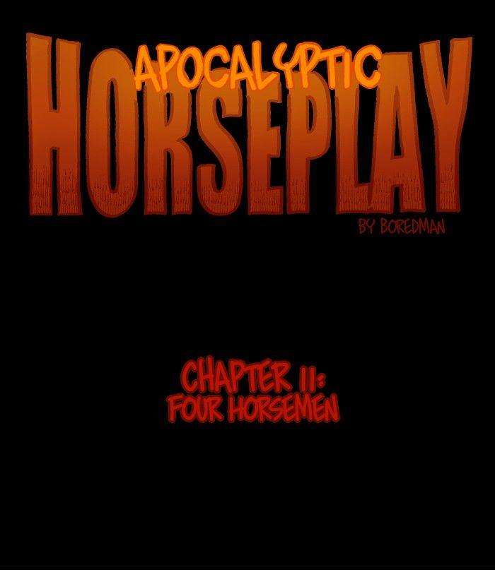 Apocalyptic Horseplay - Chapter 21