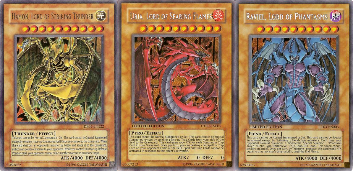 Yugioh Deck Recipe Livetrix: The Three Sacred Beast