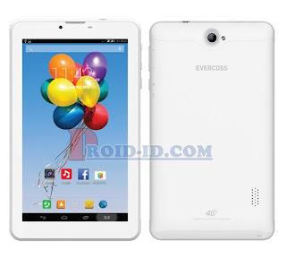 Cara Flash Evercoss U70 Winner Tab S4 Via PC