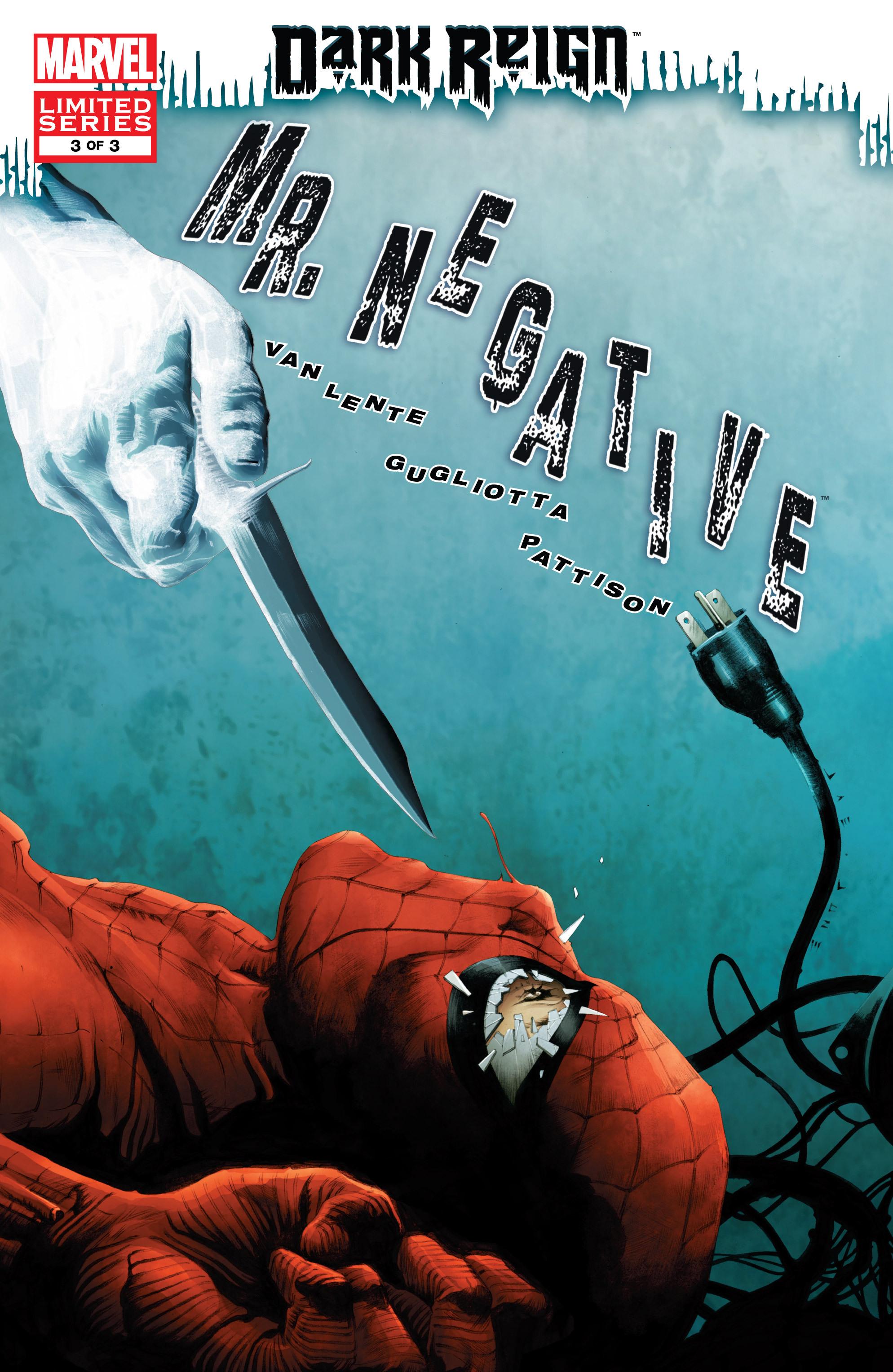 Dark Reign: Mister Negative issue 3 - Page 1