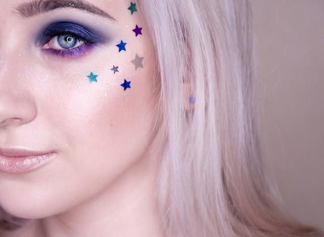 яркий праздничный макияж