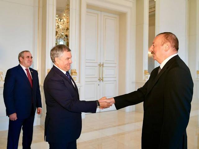 Volodin llamó a Azerbaiyán en un socio estratégico de Rusia