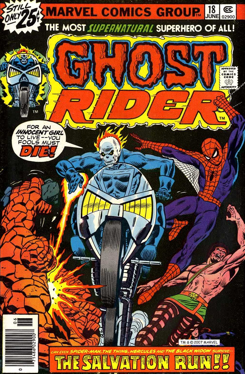 Ghost Rider (1973) Issue #18 #18 - English 1