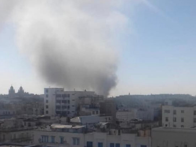 Nine people wounded as woman blows herself up in Tunis