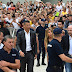 Juventus fans gathers ahead of Cristiano Ronaldo unveiling