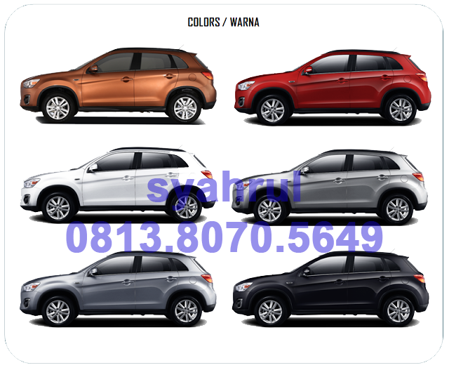warna mitsubishi new outlander sport 2017