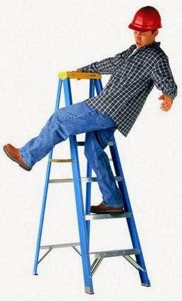 cần sử dụng thang nhôm đúng cách