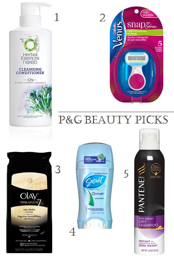 Top summer beauty picks from P&G Beauty