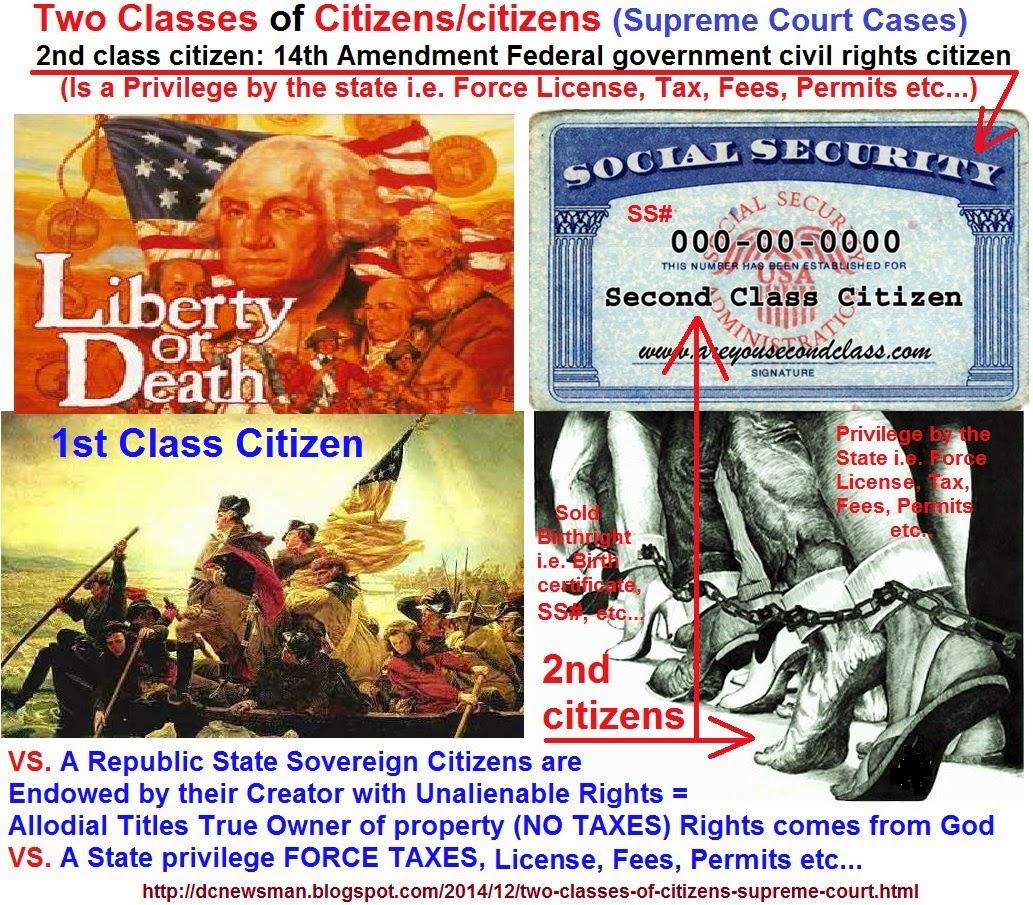 News Man 14th 16th 17th Amendments were NEVER