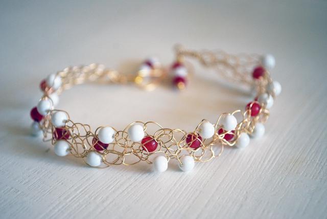 Orecchini E Uncinetto Crochet Beads And Wires