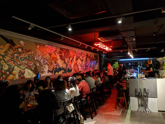 Check out the ambiance of Kouzu Bangsar! Source: Kouzu FB