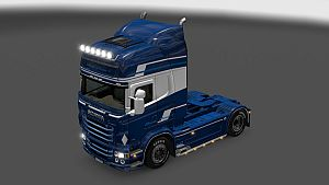 Blue Pearl skin for Scania RJL