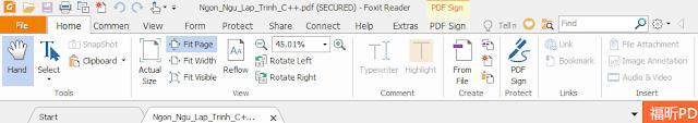 Download phần mềm đọc file PDF Foxit Reader 9.0 mới nhất p