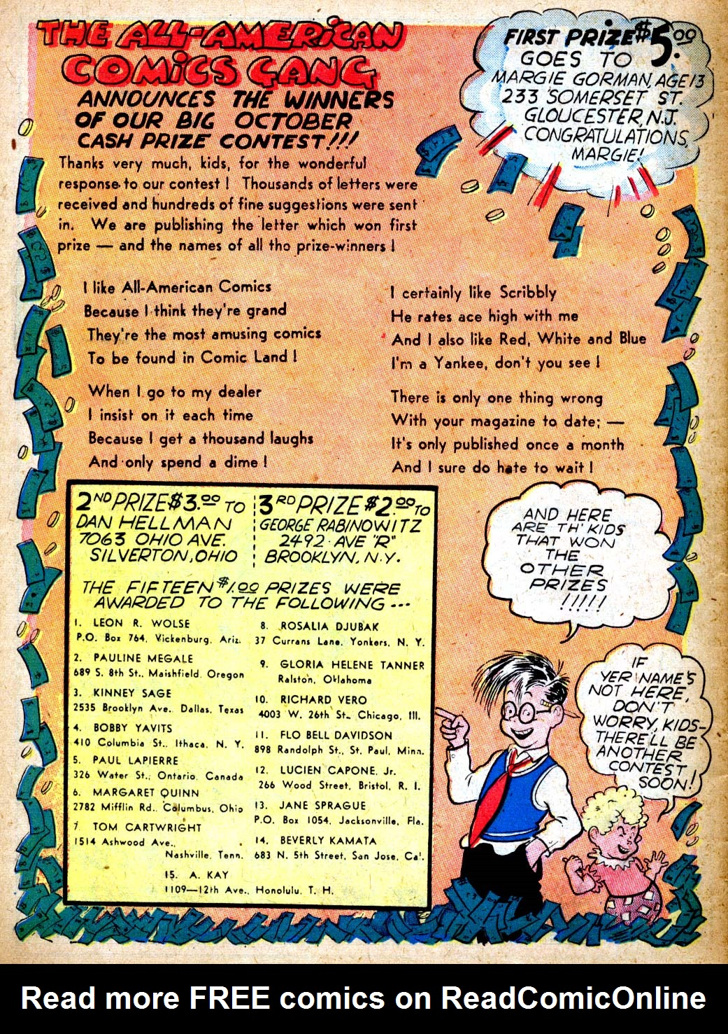 Read online All-American Comics (1939) comic -  Issue #9 - 58