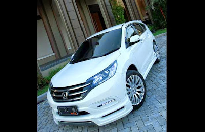 Car Modification Honda CRV 2016 | modification mobil