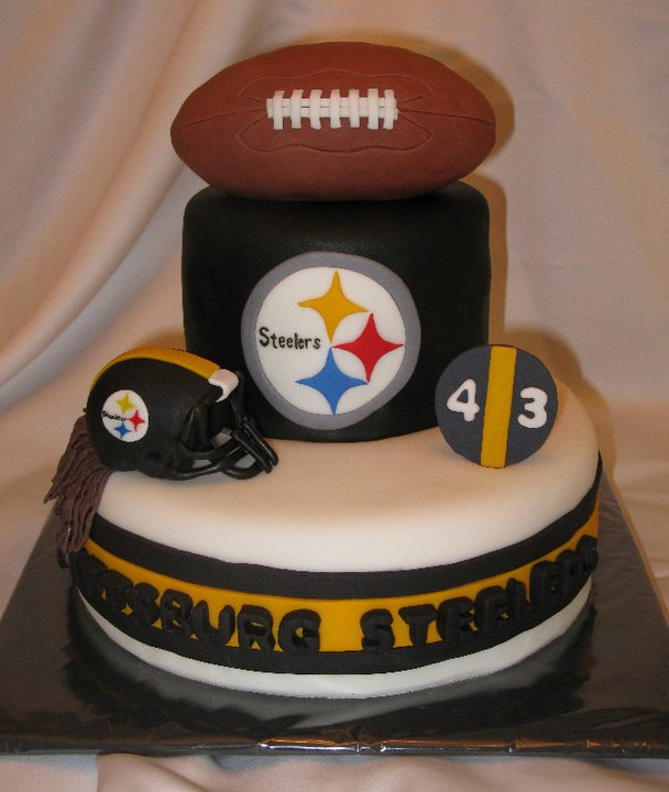 Wick D Cakes Pittsburg Steelers