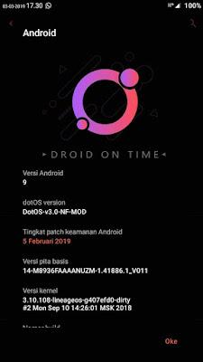 Flash Custom ROM Android Pie 9 Redmi 3 /Pro