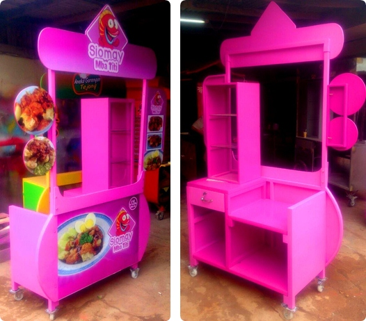 Booth Portable siomay
