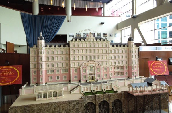 Grand Budapest Hotel model exhibit